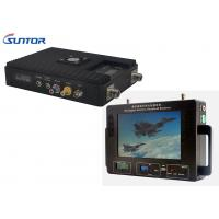 Wholesale 300-860MHz Professional Wireless Video Transmitter And Receiver For Military / Industrial from china suppliers