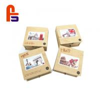 Recyclable Featuring Flexo Printing FSC BSCI Standard Kraft Paper Packaging Box for sale