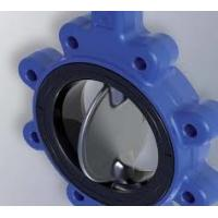 Quality Black NBR Seat Butterfly Valve , Centerline 1 '' - 54 '' Hub Seal Seat for sale
