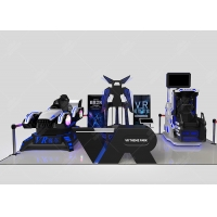 Wholesale Virtual Reality Interactive Gaming Center VR 9d Theme Park from china suppliers