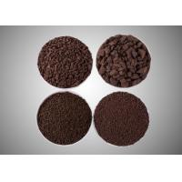 China Manganese Sand Filter Media Water Filter Materials Granular Brown Color High Purity for sale