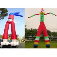 Wholesale Two Legs Diversified Designs Waving Inflatable Tube Man Height 6m UV Protection from china suppliers