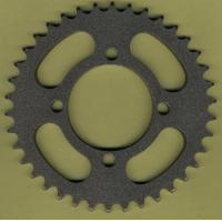 Wholesale Custom Suzuki AX100 Chain Sprocket Wheel / Spare Parts For Motorcycle from china suppliers