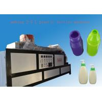 Wholesale singal /double station extrusion plastic blow molding machine for pp pe plastic container from china suppliers