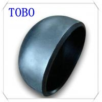 TOBO Butt Welding Fitting Pipe Caps Sch 40 Carbon Steel Vent Pipe Fitting Caps for sale