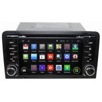 Wholesale Ouchuangbo Auto DVD Multimedia Stereo Audi A3 2003-2011 2003-2011 Android 4.4 3G Wifi Blue from china suppliers