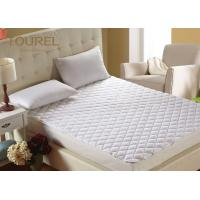 Wholesale Luxury Terry Cloth Hotel Bed Protector Waterproof  TPU On Elastic Against Perspiration Liquid from china suppliers