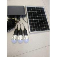 Buy cheap solar home power system with LED 3W bulbs switch cable solar lithium home from wholesalers