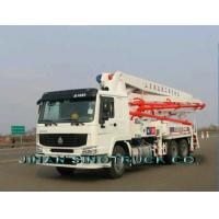 Wholesale SINOTRUK HOWO SERIES CONCRETE PUMP TRUCK from china suppliers