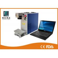 Wholesale Precision 2D Metal Laser Marking Machine Air Cooling For Silver Bracelet Ring from china suppliers