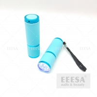 Wholesale Blue Nails Curing Drying Torch 9W Nail Dryer Uv Led Flashlight Lamp from china suppliers