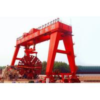 A Frame Double Girder Gantry Crane For Shield Tunneling Machine Electric Motors Driving for sale