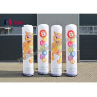 Wholesale Outdoor Inflatable Advertising Blow Up Man Post Lamp Inflatable Pillar Shape from china suppliers