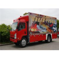 Wholesale Two Seats Commercial Fire Trucks Japanese Chassis With 13 Sets Communication Modules from china suppliers