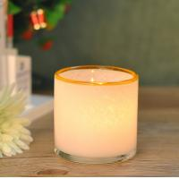Wholesale Customed color Hand Blown Glass Candle Holder Vessel With Artisanally Crafted from china suppliers