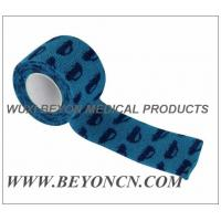 Quality Car Prints Self Adhesive Printed Bandages Athletic Tape For Splint Dressing Fixation for sale
