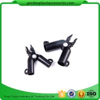 Wholesale Adjustable Garden Cane Connectors , 16mm Black Bamboo Cane Connectors 50*40*40 Free sample from china suppliers