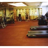 China Rubber Gym Floor Tiles on sale