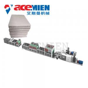 Polypropylene Profile Sheet Machine For Plastic Hollow Building Construction Formwork