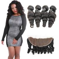 Wholesale Real Healthy 100 Loose Wave Hair Extensions 4 Bundles No Synthetic Hair from china suppliers