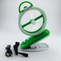 Quality 220V High Speed Rechargeable Fan Usb Rechargeable Portable Fan green for sale
