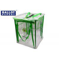 Quality Flexible Material Collapsible Ballot Box 45W x 45D x 60H For Election for sale