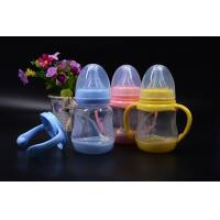 Quality BPA Free super wide neck Temperature change color PPSU baby feeding bottle 180ml for sale