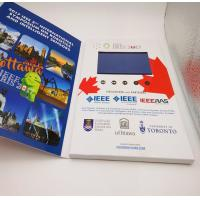 Wholesale Rechargeable Flip Book Video brochure / booklet , lcd invitation card with usb from china suppliers