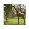 Buy cheap Life Size Outdoor Animal Statue Corten Steel Garden Giraffe Statue from wholesalers