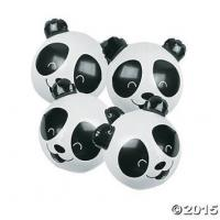 Wholesale PVC Panda Bear Beach Party Inflatable 11 Inch Beach Ball For Kids CPSIA from china suppliers