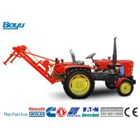 Wholesale Red Transmission Line Stringing Equipment Self - Propelled Mechanical Puller from china suppliers