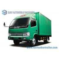 Wholesale LHD / RHD Refrigerated van Truck 4x2 Dongfeng small refrigerated trucks 95 Hp 3 T - 5 T from china suppliers