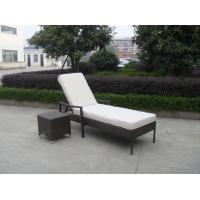 Wholesale Indoor / Outdoor Rattan Wicker Sunlounger , Beach Lounge Chair from china suppliers