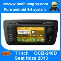Wholesale Ouchuangbo pure android 4.4 Seat Ibiza 2013 2014 autoradio gps dvd support 1024*600 4 core from china suppliers