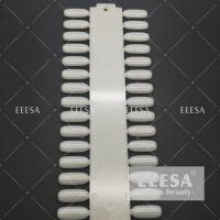 Wholesale Round Shape Artificial French Nails For Nail Training School Practice 36 Pcs from china suppliers
