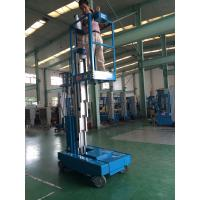 Quality Single Mast Hydraulic Lift Ladder 136kg Rated Load With 6.2m Working Height for sale