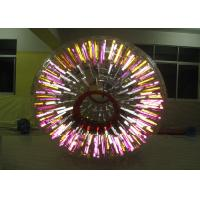 Wholesale Waterproof Outdoor Inflatable Toys Shining Adult Hamster Ball / Zorb Ball from china suppliers