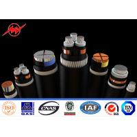 China Steel Wire Armoured Multi Cores High Voltage Cable Voltges Up To 35kv on sale