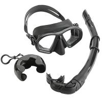 Wholesale Low Volume Diving Mask Snorkel Set Easy Breath Scuba Snorkeling Gear from china suppliers