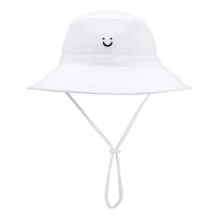 Wholesale UPF 30+ Baby Girls Neck Shade Flap Bucket Cap Sun Protection Beach Hat from china suppliers