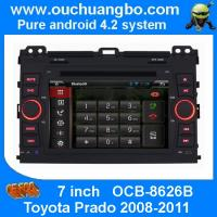 Wholesale Ouchuangbo Auto DVD Stereo Player for Toyota Prado 2008-2011 Android 4.2 System iPod USB Wifi OCB-8626B from china suppliers