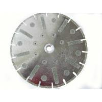 Wholesale Electroplating Diamond Disc Wheel , Diamond Blade For Marble / Stone from china suppliers