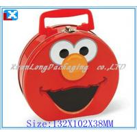 Wholesale with handle and window hello kitty lunch tin box from china suppliers