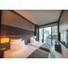 Dark Color Matt Wood Venner Hilton Luxury Hotel Bedroom Furniture With Plywood Finish for sale