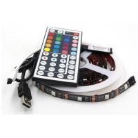 China Paypal Accept SMD5050 Tv 5V USB LED Strip RGB Light With Remote for sale