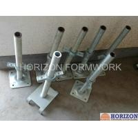 Wholesale Q235 Steel Scaffold Screw Jack , Scaffolding Adjustable Base Jack Painted Surface from china suppliers