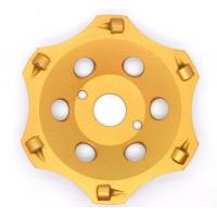 """Wholesale 5"""" PCD Diamond Cup Wheels Super Good Wearness For Heavy Epoxy Removing from china suppliers"""