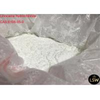 China White Solid Powder Pain Relieving Local Anaesthesia Drugs Linocaine Hydrochloride / Lidocaine HCl CAS 6108-05-0 on sale