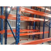 Wholesale 3 Levels Heavy Duty Racking System With Steel Plate Decking 3000H * 1000D * 2300L from china suppliers