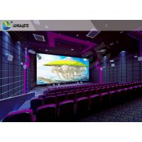 Buy cheap SV Cinema 3D Sound Vibration Movie Theater Seats With Special Effect Machine from Wholesalers